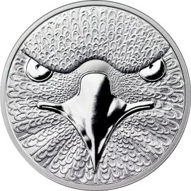Sol Noctis 2014  0,01 BTC Binary Eagle Proof Silver Coin