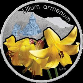 Niue 2012 1$ Lilium Armenum Lilium Proof Silver Coin