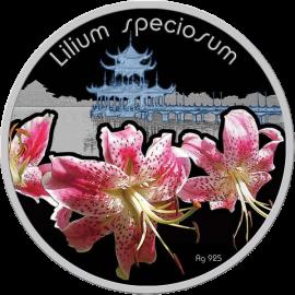 Niue 2012 1$ Lilium speciosum Lilium Proof Silver Coin