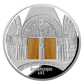 Niue 2014 10$ Romanesque Art The Art that Changed the World 3 Oz Proof Silver coin
