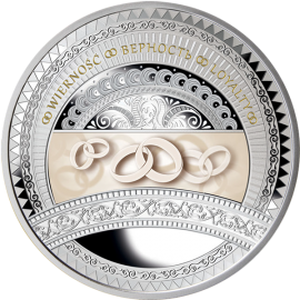 Niue 2016 1$ The World of Your Soul - Loyalty Proof Silver Coin