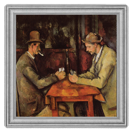 Niue 2016 2$ The Card Players - The Most Expensive Paintings in the World 2 oz Proof Silver Coin