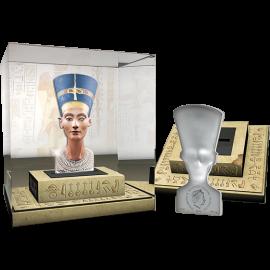 Solomon Islands 2013 25$ Nefertiti - Sculptures of Art 3 oz Proof Silver Coin